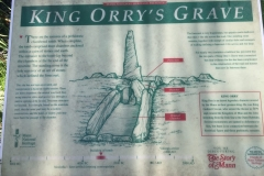 King Orry's Grave - site 2