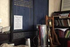 The little kitchen at Kirk Santan