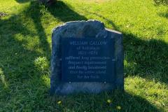 William Callow's grave