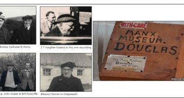 Manx Language and the Irish Folklore Commission
