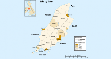 Sheadings of the Isle of Man