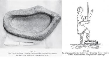 The Manx Lia Fáil or Stone of Destiny