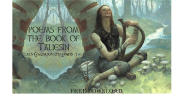 Poems from the Book of Taliesin