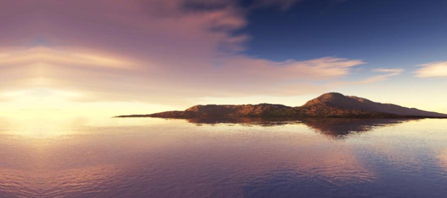The Submerged Island