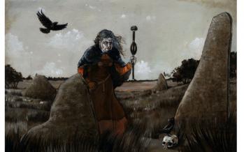 Völva, a Shamanic Seeress