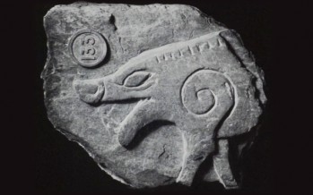 Boar Fragment from a Manx Cross
