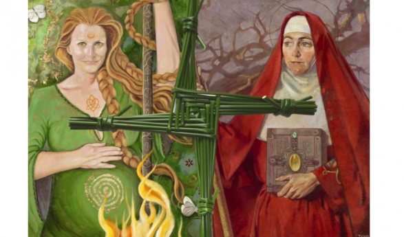 Laa'l Breeshey – St Bridget's Day
