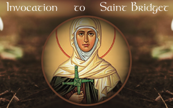 Invocation to Saint Bridget