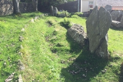 King Orry's Grave - site 1