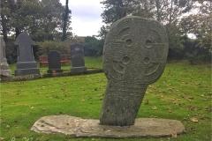 A fine wheel-headed cross